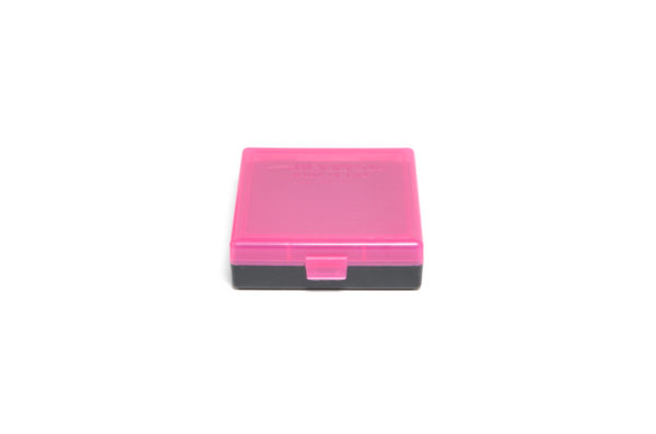 Berrys Box 380/9mm Snap Hinged 100 Rounds #001 Pink/Black