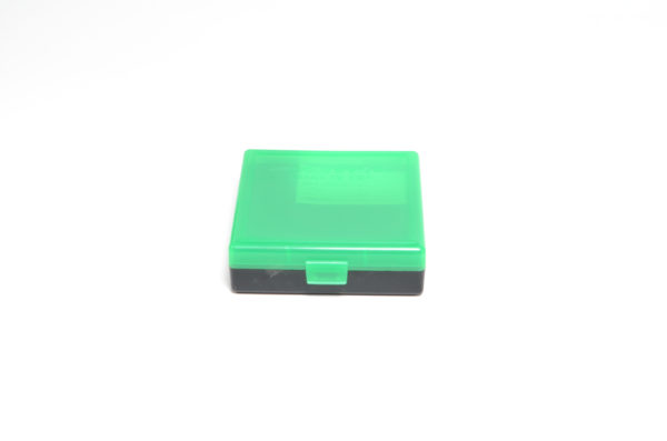 Berrys Box 380/9mm Snap Hinged 100 Rounds #001 Zombie Green/Black