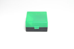 Berrys Box 222/223 Snap Hinged 100 Rounds #005 Zombie Green/Black