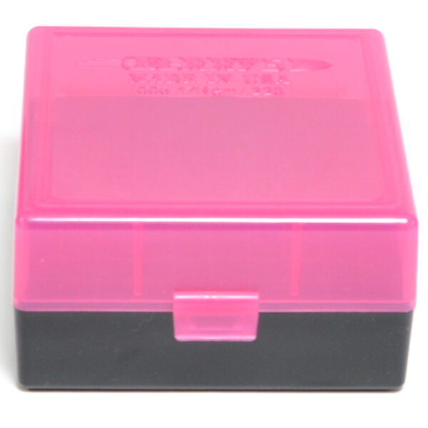 Berrys Box 222/223 Snap Hinged 100 Rounds #005 Pink/Black