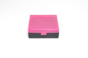 Berrys Box 44 Spl/Mag Snap Hinged 100 Rounds Pink/Black