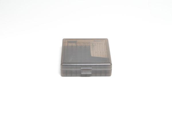 Berrys Box 380/9mm Snap Hinged 100 Rounds #001 Smoke