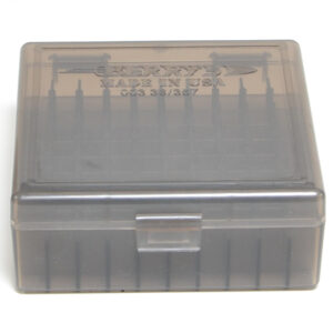 Berrys Box 38/357 Snap Hinged 100 Rounds #003 Smoke