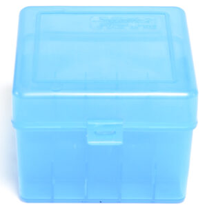 "Berrys Box 12 Ga 3.5"" Hinged Top 25 Rounds Blue"