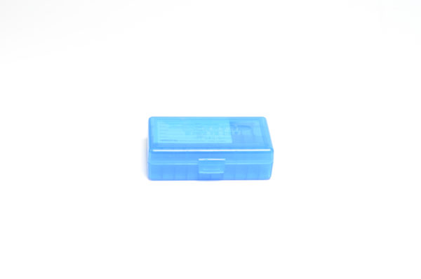 Berrys Box 380/9mm Hinged Top 50 Rounds #401 Blue