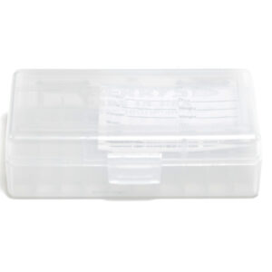 Berrys Box 380/9mm Hinged Top 50 Rounds #401 Clear