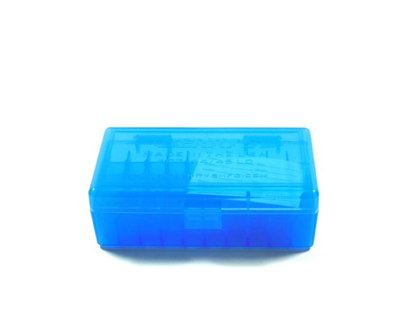 Berrys Box 44 Spl/Mag Hinged Top 50 Rounds Blue