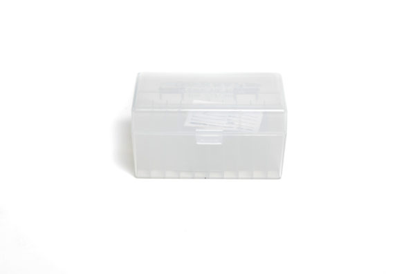 Berrys Box 243/308 Hinged Top 50 Rounds #409 Clear