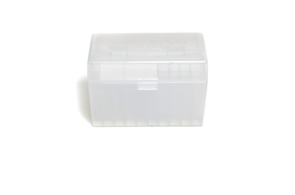 Berrys Box 270/30-06 Hinged Top 50 Rounds Clear