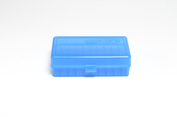 Berrys Box 454/50 Ae Hinged Top 50 Rounds Blue