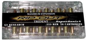 G2 Research 223 REM 65 Gr RIPOUT Trident Supersonic (20)