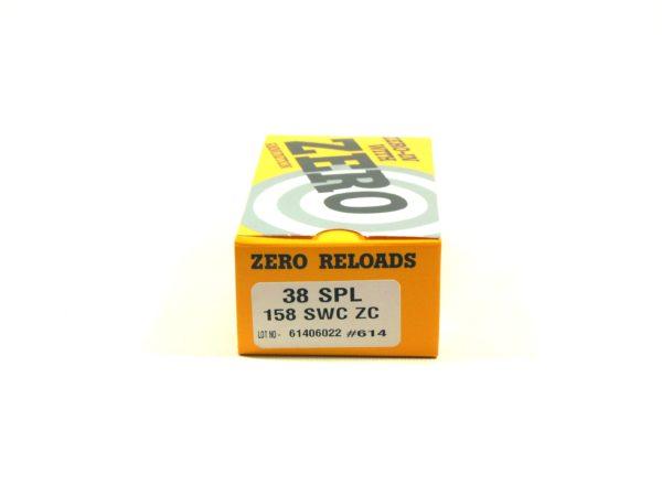 Zero Reload 38 Special 158 Grain Semi-Wadcutter (50)