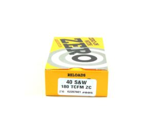 Zero Reload 40 180 Grain Truncated Cone Full Metal (50)