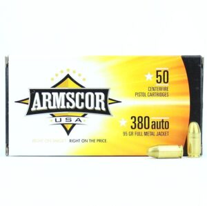 Armscor 380 Auto ACP FMJ 95 Gr (50)