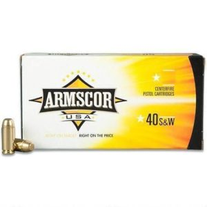 Armscor 40 S&W 180 Grain JHP (20)