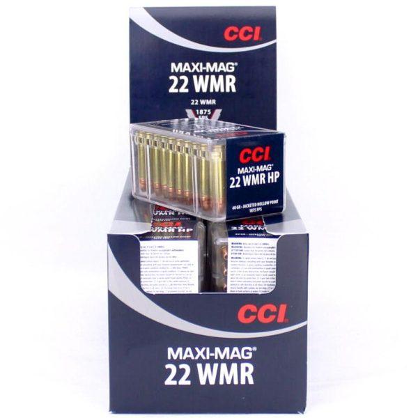 CCI 22 WMR 40 GR JHP MAXIMAG 1875 FPS (50)