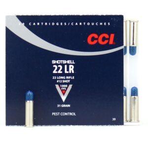 CCI 22 LR 31 Gr #12 Shotshell (20)