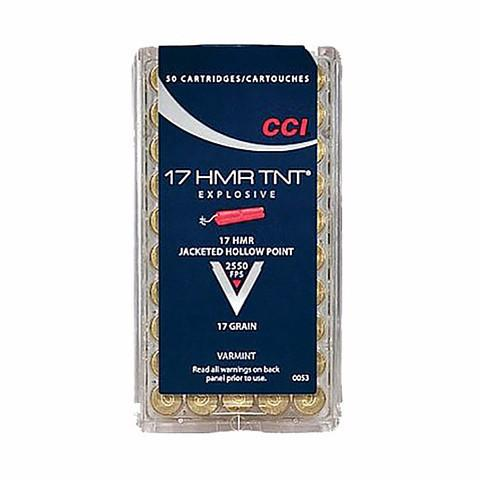 CCI 17 HMR 17 Gr JHP TNT (50)