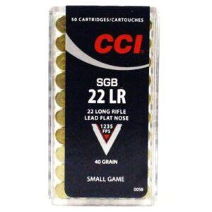 CCI 22 LR 40 Gr Lead FN SGB (50)