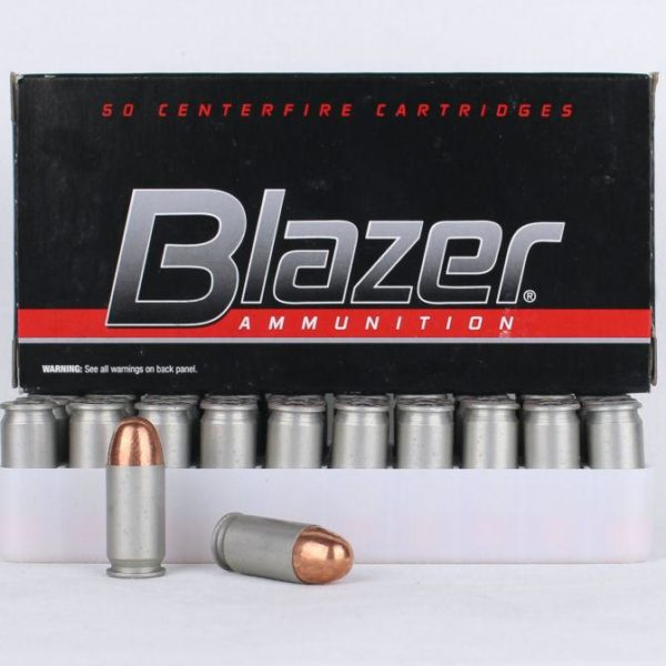 CCI Blazer 9mm 124 Gr Aluminum Case Jacketed (50)