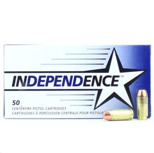 Independence 40 S&W 180 Gr FMJ (50)