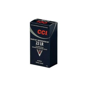 CCI 22 LR 40 GR Segmented HP Quiet-22 (50)