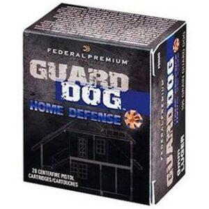 Federal 45 ACP 165 Gr Guard Dog FMJ (20)
