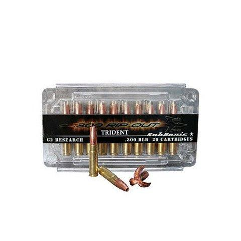 G2 Research 300 AAC Blackout (7.62X35mm) 110 Gr RipOut HP SuperSonic (20)