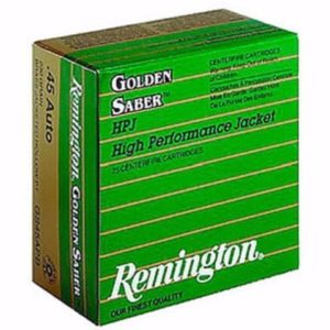 Remington 38 Special+P 125 Gr Golden Saber BJPH (25)