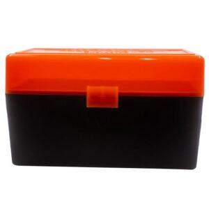 Berrys Box 243/308/6.5 Creedmoor Hinged Top 50 Rounds #409 (Hunter Orange)