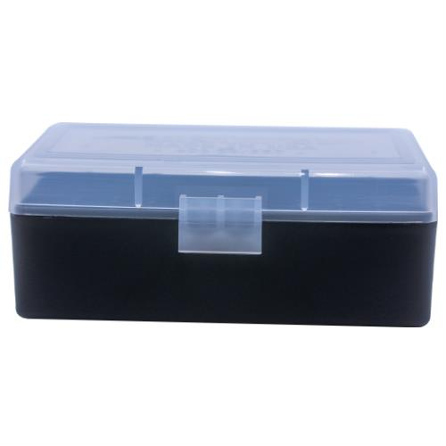 Berrys Ammo Box 38/357 Hinged Top 50 #403 Clear 50/Cs