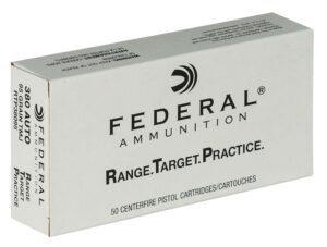 Federal .380 Auto 95 Gr FMJ RTP (50)