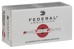 Federal 38 Special 130 Gr FMJ RTP (50)