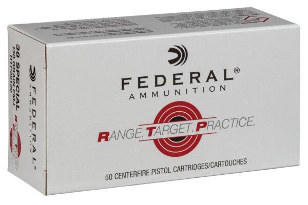Federal 38 Special 130 Gr FMJ RTP (50)