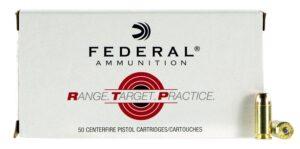 Federal 40 S&W 165 Gr FMJ RTP (50)