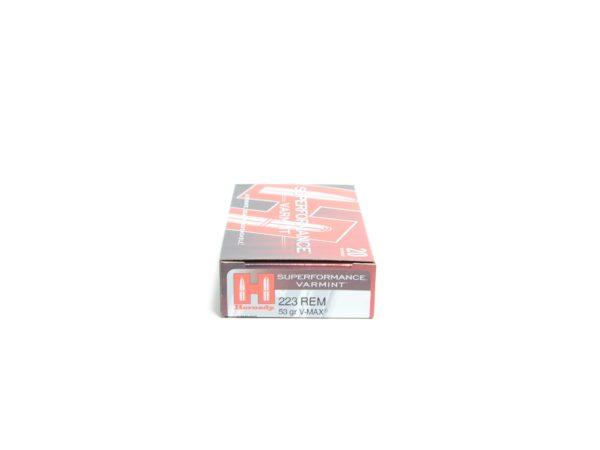 Hornady 223 Rem 53 Grain V-MAX Superformance (20)