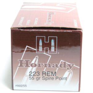 Hornady 223 55 Grain Soft Point (50)