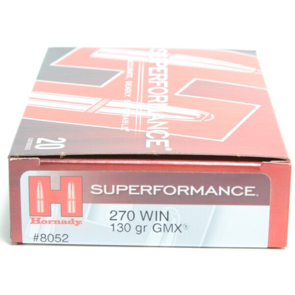 Hornady 270 Win 130 Grain GMX (MonoFlex) Superformance (20)