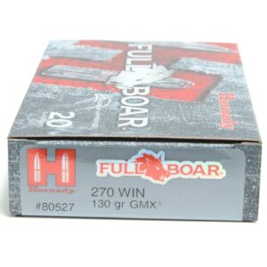 Hornady 270 Win 130 Grain GMX (MonoFlex) Full Boar (20)