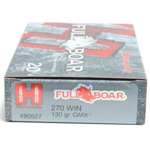 Hornady 270 Win 130 Grain GMX (MonoFlex) Full Boar (20)