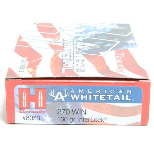 Hornady 270 Win 130 Grain Interlock American Whitetail (20)