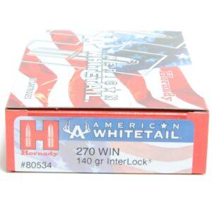 Hornady 270 Win 140 Grain Interlock American Whitetail (20)