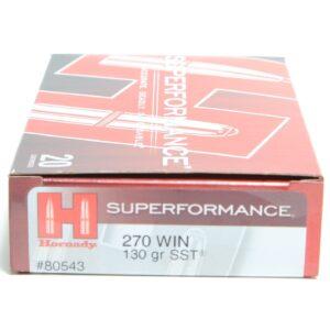 Hornady 270 Win 130 Grain SST (Super Shock Tip) Superformance (20)