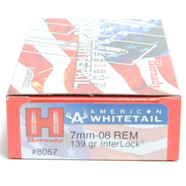Hornady 7mm-08 Rem 139 Grain Interlock American Whitetail (20)