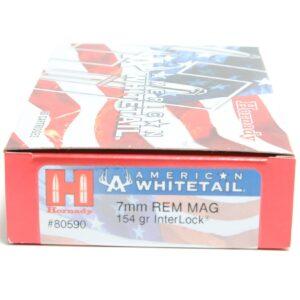 Hornady 7mm Rem Mag 154 Grain Interlock American Whitetail (20)