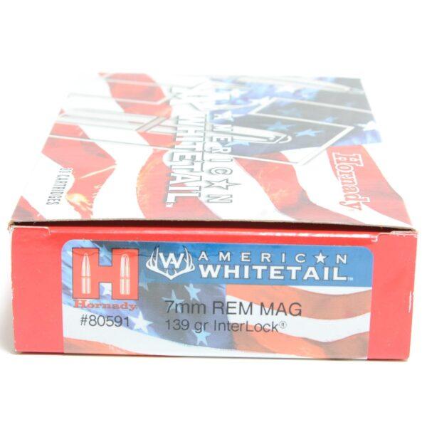 Hornady 7mm Rem Mag 139 Grain Interlock American Whitetail (20)