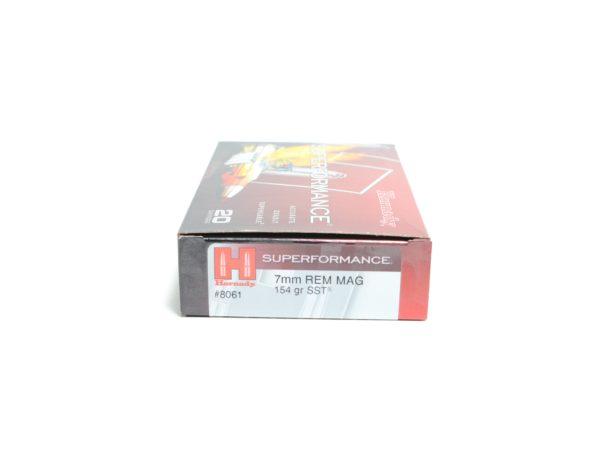 Hornady 7mm Rem Mag 154 Grain SST (Super Shock Tip) Superformance (20)