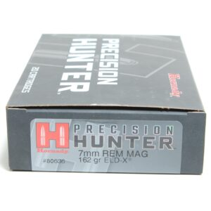 Hornady 7mm Rem Mag 162 Grain ELD-X (Extremly Low Drag) Hunting (20)