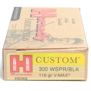 Hornady 300 Wspr 110 Grain V-MAX (20)