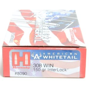 Hornady 308 Win 150 Grain Interlock American Whitetail (20)